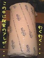 圧縮梱包されたトゥルースリーパープレミアム本体
